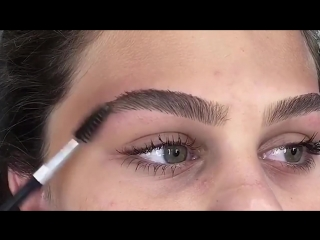 How to fill  shape your brows