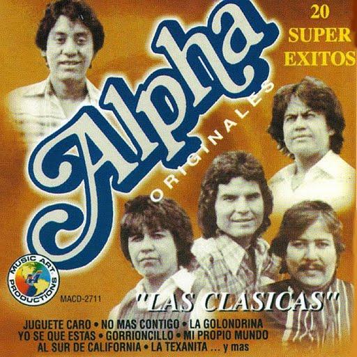 Alpha альбом 20 Super Exitos