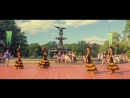 Кыргызский танец в центре Нью-Йорка