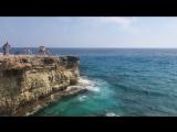 Прыжок со скалы (Cyprus, Cavo Greco)