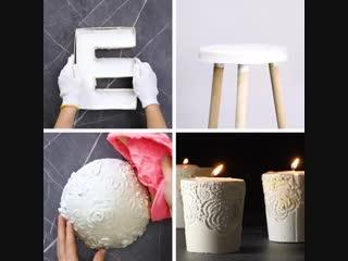 Идеи с цементом