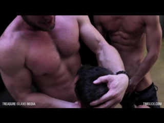 Nate grimes with hans berlin and aiden ward