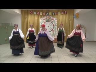 Показ традиционных костюмов Пермской губернии