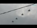 Над Петербургом прошла репетиция парада авиации ко Дню ВМФ