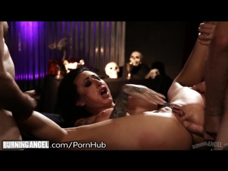BurningAngel Lily Lane DP Gangbanged in HELL