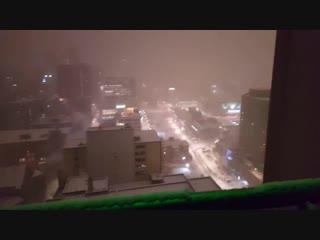 Montréal ❄❄ 5:00 am good morning ☺