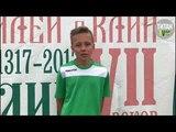 С. Царьков после матча СШ г. Клин - СШ №1 г. Солнечногорск (11-0)