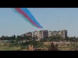 Подготовка к параду 100-летия Вооруженных сил Азербайджанской Республики