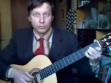 Марш Прощание славянки на классической гитаре 2012