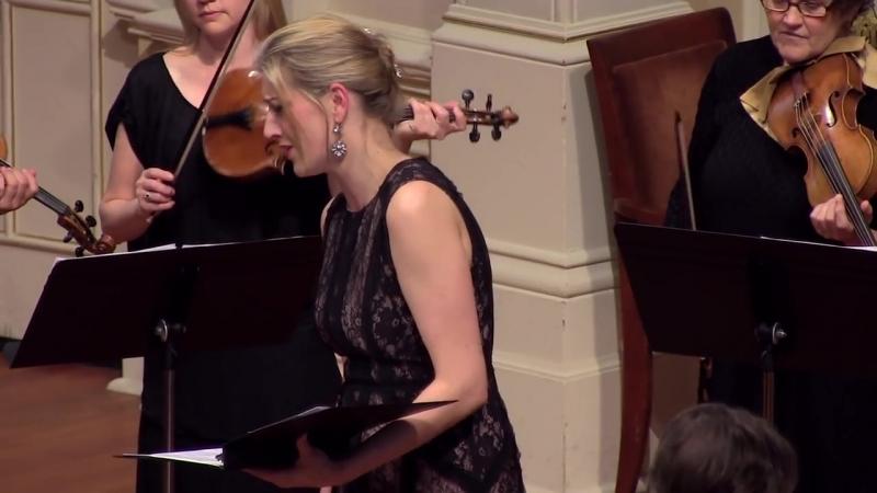 Handel Lascia chio pianga Rinaldo Voices of Music with Kirsten Blaise sopr