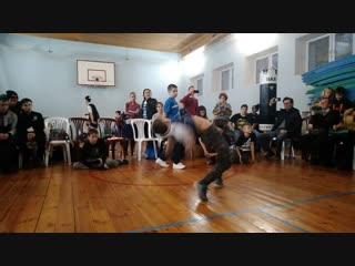 Bboy Crazy FUNNY PEOPLE preselect Красно баттл