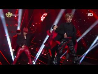 [RAW|VK][] MONSTA X - Dramarama @ SBS Inkigayo