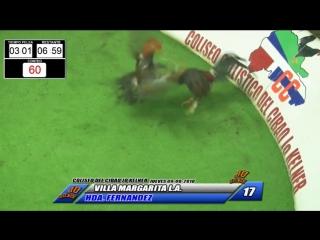 17 VILLA MARGARITA LA VS HACIENDA FERNANDEZ  090818