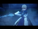 Момент из 1 серии аниме Судьба/Ночь схватки Бесконечный мир клинков / Fate/Stay Night Unlimited Blade Works 2014 / FSN 2014