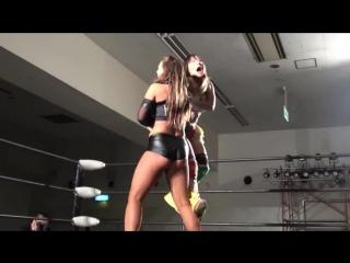 Bea Priestley & Kelly Klein vs. Jungle Kyona & Yoko Bito - Stardom Goddesses Of Stardom Tag League 2017 - Tag 4