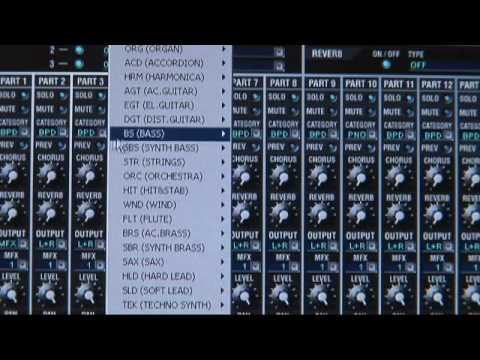 Roland SonicCell Synth Module Overview