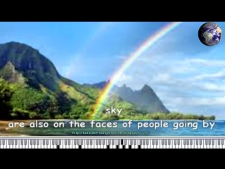 Louis Armstrong - What a wonderful world - Free online karaoke song with lyrics on the screen.armstrong