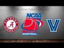 Alabama Crimson Tide vs Villanova Wildcats 17.03.2018 2nd Round NCAAM March Madness 2018 Виасат Viasat Sport HD RU