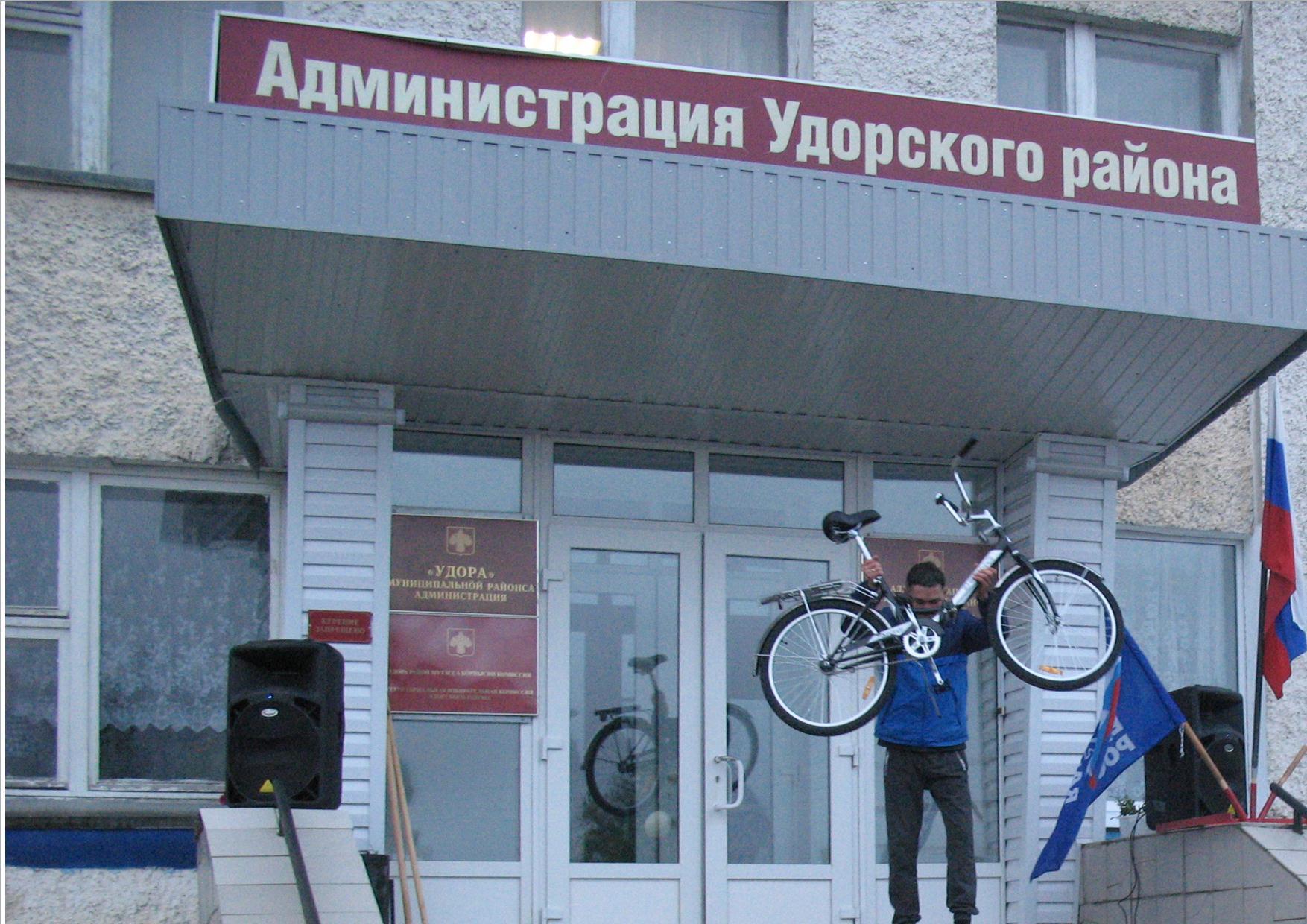 Райцентр решил завершить день государственности республики по-спортивному!