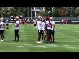 Richard Sherman offers advice to 49ers DBs including Tarvarus McFadden and Akhello Witherspoon