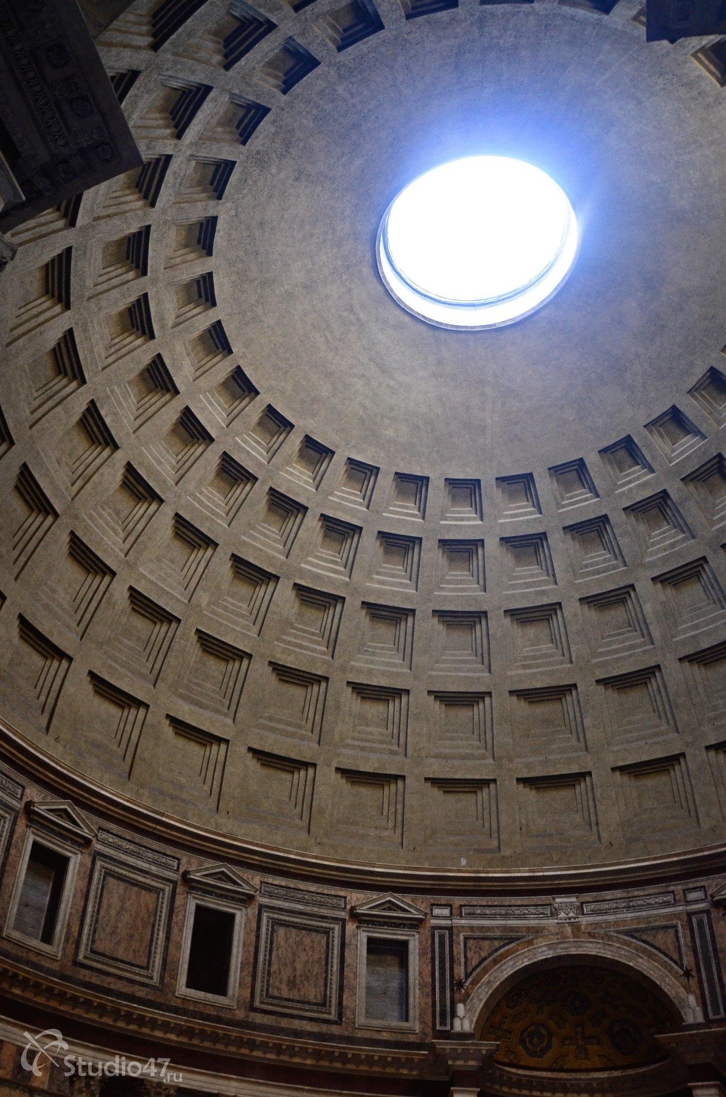 Купол римского Пантеона