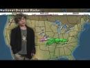 Американец, работающий в видеопродакшене, помог своему ребёнку с монтажом выпуска прогноза погоды для детского сада.