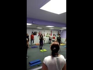 Ф-тренинг с Ириной Банковской.Студия танца и фитнеса