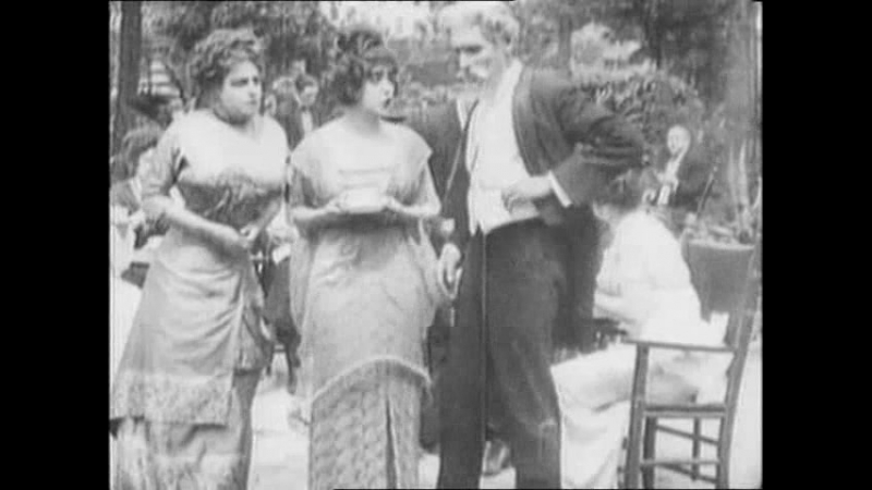 Застигнутый В Кабаре (Caught in a Cabaret) 12 Серия 1914 г.