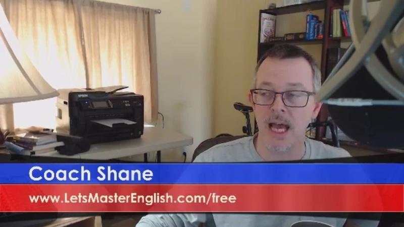 Let's Master English LIVE Episode 69 Coach Shane's ESL Live Stream ReDone