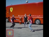 Head tennis is all about teamwork! How many will Seb5 and Kimi7 score in challenge 4 of Tr