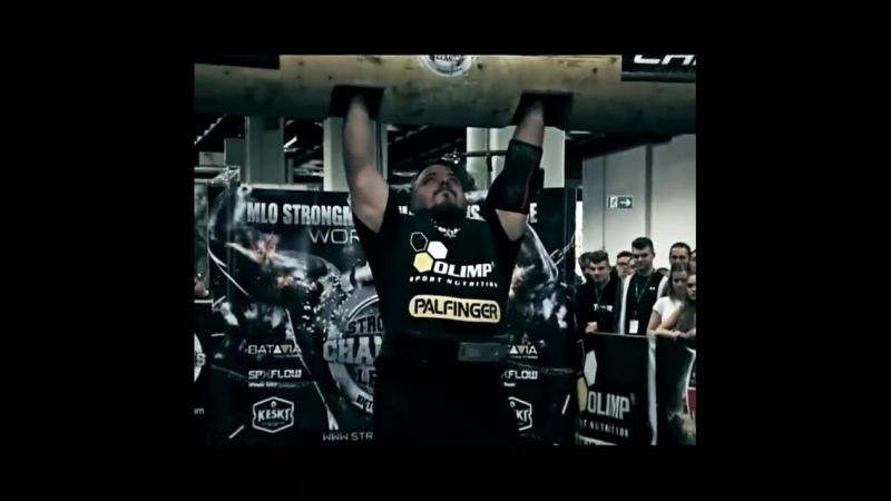 Матеуш Белшак - победитель Strongman Champions League 2017