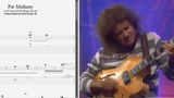 Pat Metheny - Lick from 'All the things you are' - Best lick (animated tab - Fast &amp slow)