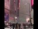 снежный❄ Нью-Йорк 😍