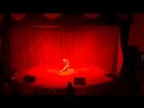 Зурина Катя pole dance студии Дайкири. танцы в Чебоксарах