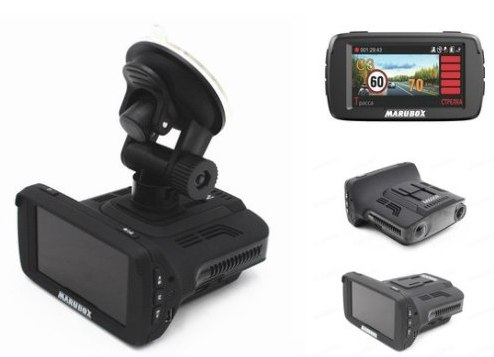 Видеорегистратор + радар + GPS - Marubox M600R