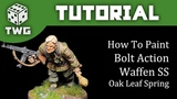 Bolt Action Tutorial How To Paint Waffen SS - Oak Leaf Spring Camo