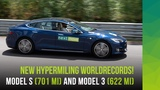 How to set Hypermiling Records with Tesla Model 3 &amp Model S on a weekend