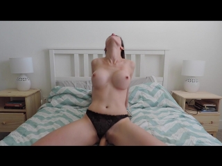 Ashley Alban - Wife Loses Her Religion (720p) [Amateur, Busty Teen, Solo, Masturbation, Dildo, Panty, Cowgirl, Deepthroat]