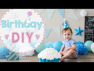★ DIY ★ Baby Birthday idea for first Birthday party celebration | Gift ideas for kids