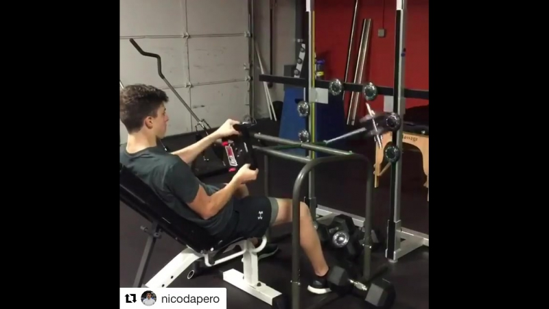 Juncos Racing driver Nico Dapero is pitfitstrong Fitlight Training