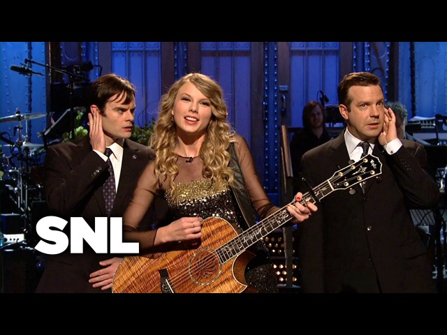 Taylor Swift Monologue Song - SNL