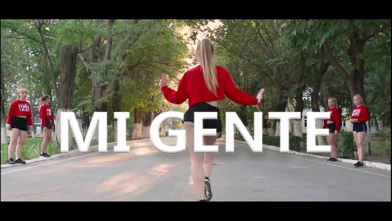 MI GENTE - J Balvin, Willy William. Reggaeton routine by Anna Volkova.