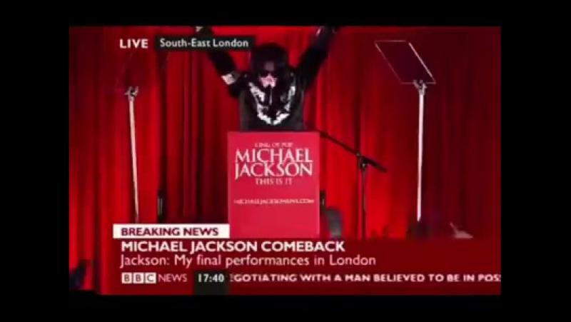 «Michael Jackson This Is It Announcement» MJJ777KING