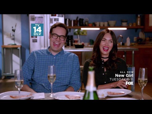 Новенькая New Girl 6 сезон 12 серия Промо The Cubicle HD