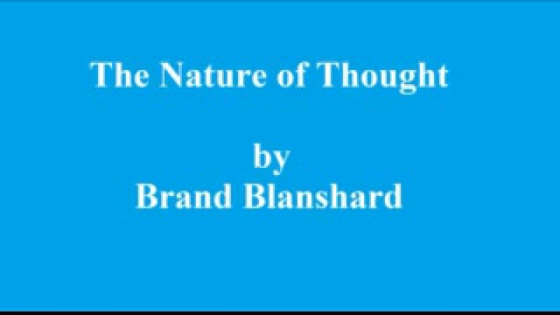 The Nature of Thought Part 2 p34-55