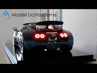 Bugatti Vitesse for $15000 Here's why this model is beautiful with LED lights - 1/8 Luxury Dreamcar