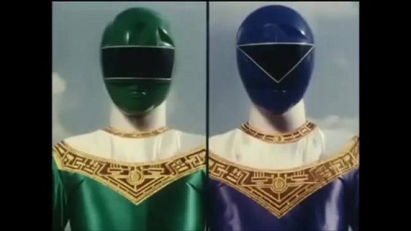 ゴレンジャーから スーパー戦隊歴代ブルー紹介シーン集 ジュウオウジャーまで
