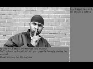 Ghostface Killah: winter warz ( with lyrics)