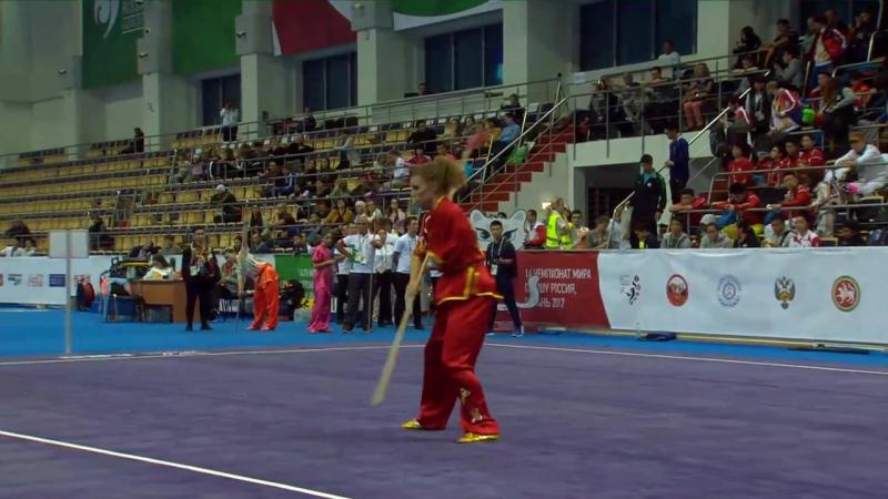 14th World Wushu Championships - Day 2 - Taolu - Mens Daoshu, Womens Qiangshu