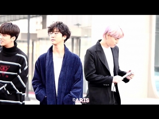 [FANCAM:FANTAKEN] 170311   Мини-фанмитинг после MBC «Show! Music Core»